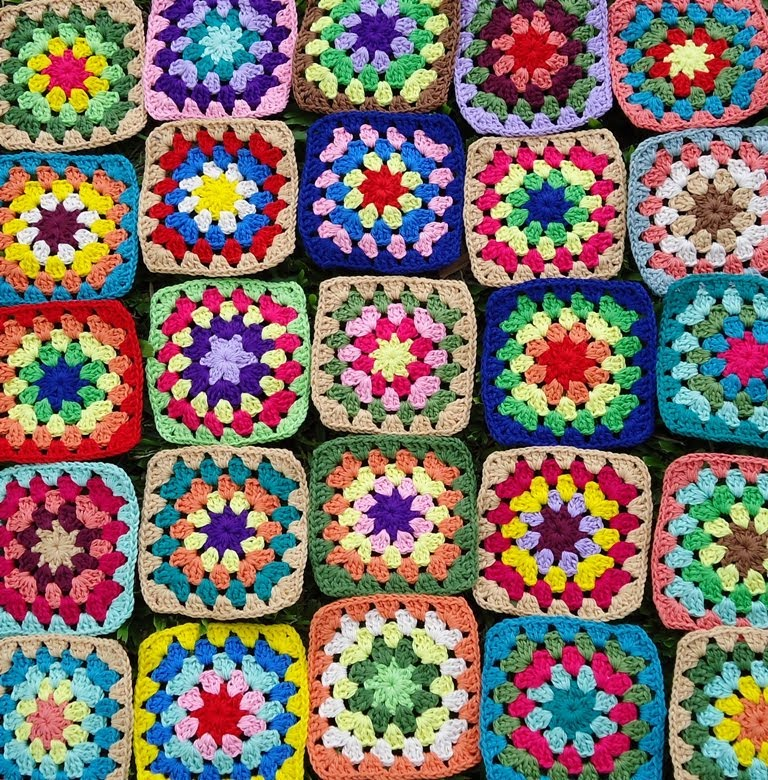 Crochet Granny Squares - Wed 25th June 2014
